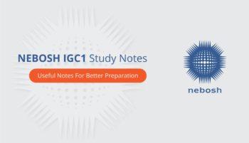 NEBOSH IGC 1 PDF Download