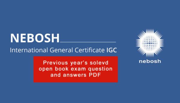 NEBOSH-IGC